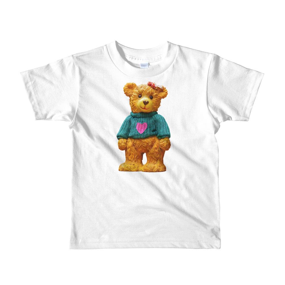 American Apparel 2105w Kids Fine Jersey Short Sleeve T Shirt